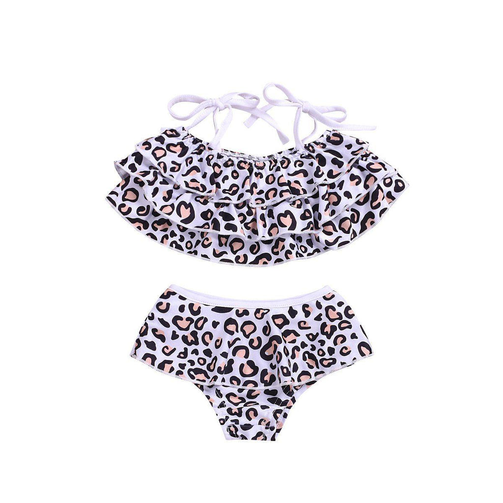 2-piece Leopard Mom & Me Swimsuit