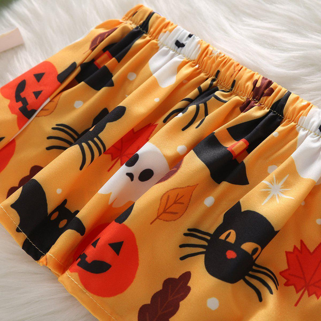 3-Piece Baby Halloween Cute Pumpkin Suit