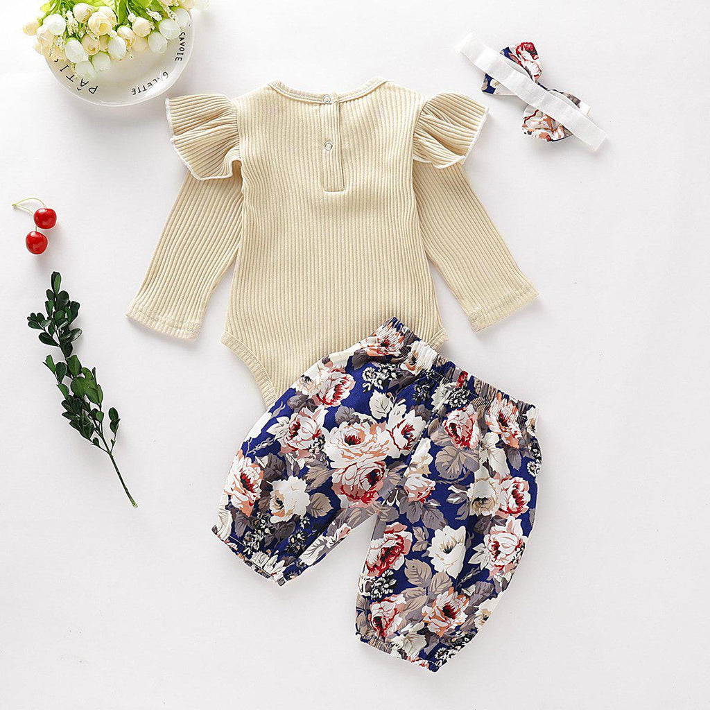 2-piece Baby Shivering Cotton Coming Home Suit