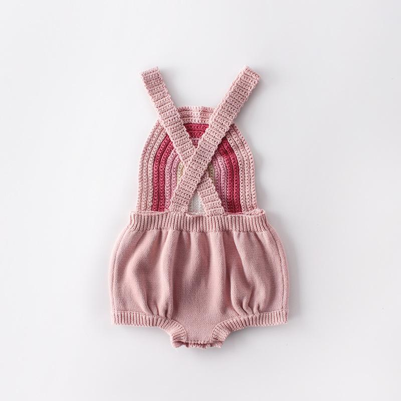 Baby Lovely Rainbow Knit Vest