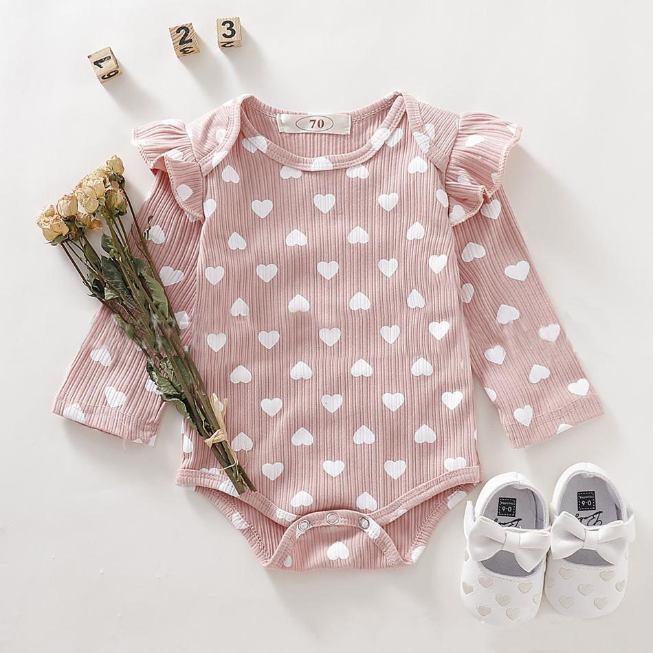 Baby Girl Romper Love