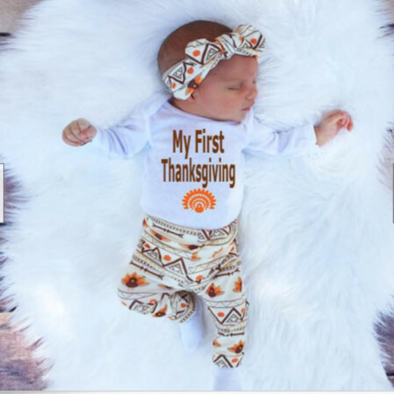 My First Thankgiving Festival Baby Set