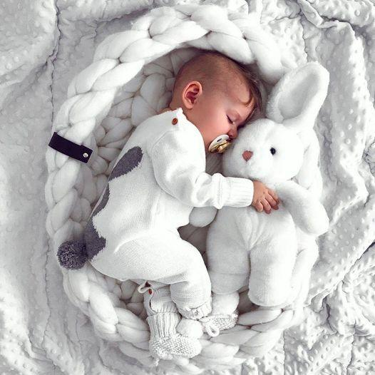 Baby 3D Rabbit Sweater