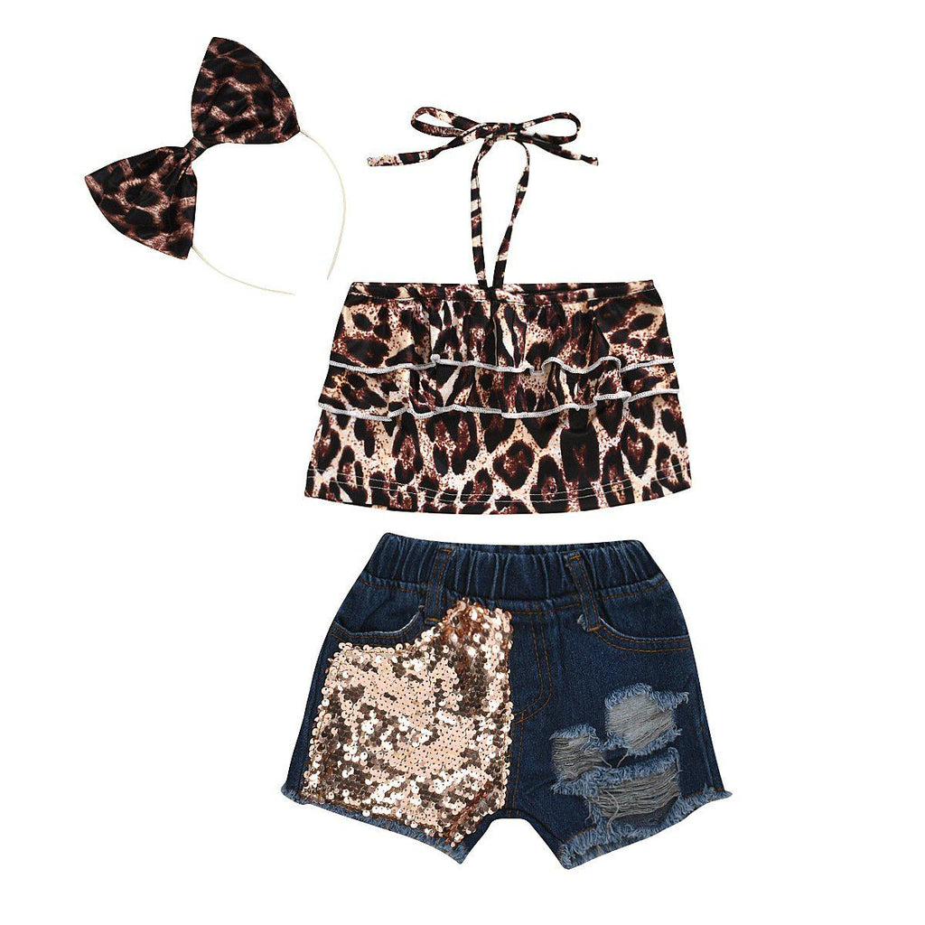 3-Piece Leopard Set