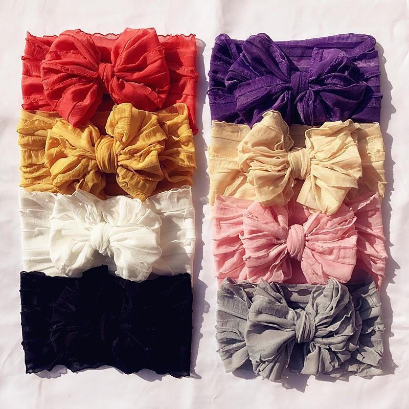 Baby's Big Bow Lace Headband