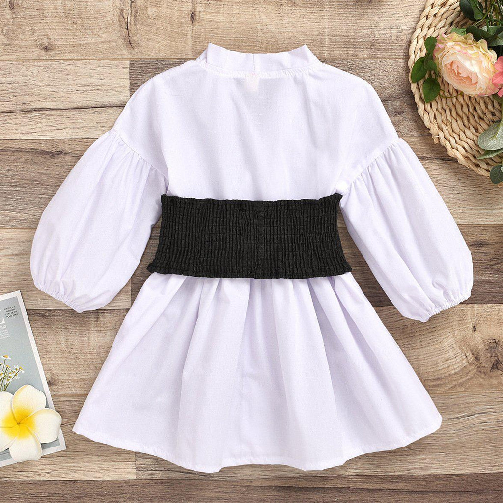 Girl Cotton Knit Dress