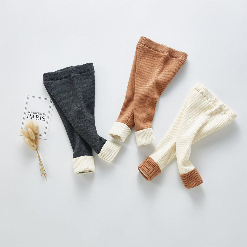 Girls' Winter Stretch Knit Pants
