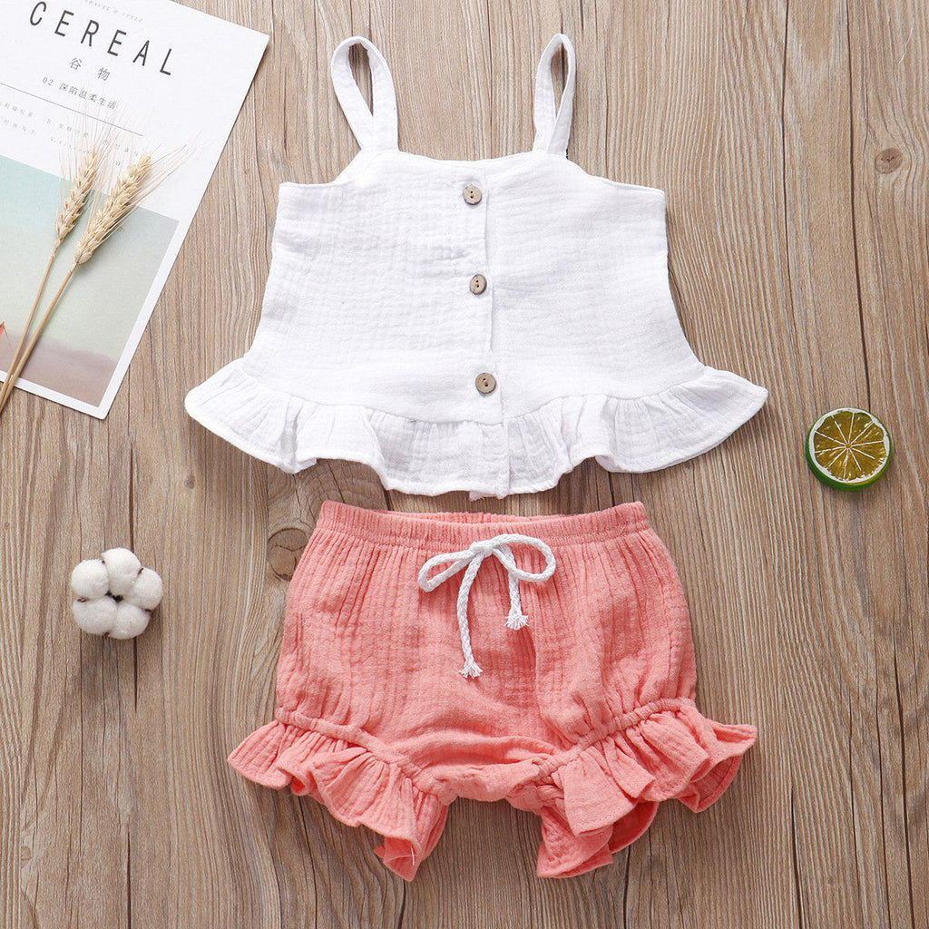 2-Piece Baby Pure Color Set