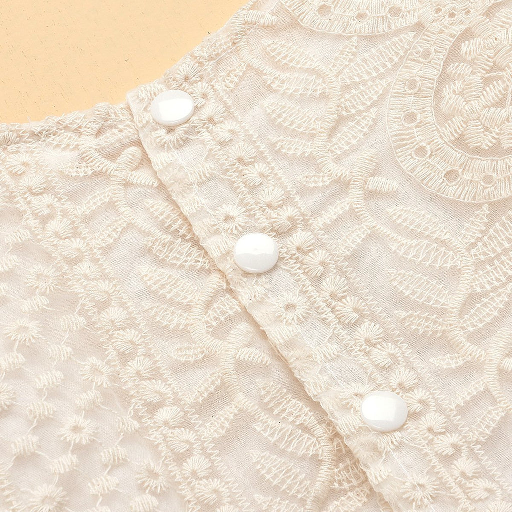 Baby Girl Lace Romper