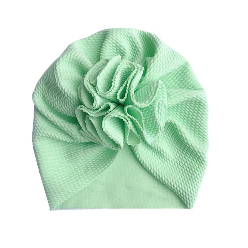 Children's hat soft knitted cloth bow