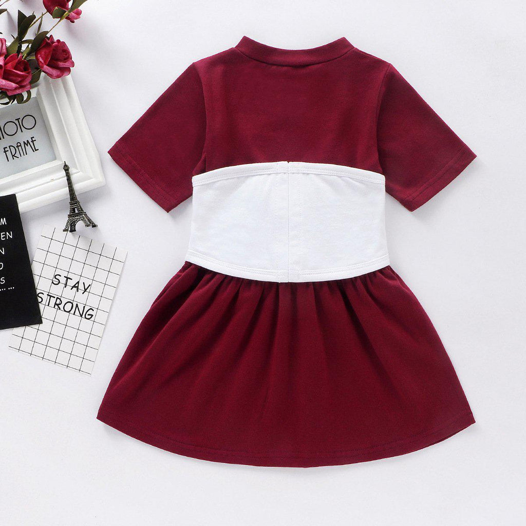 Girl Belt Sassy Dress