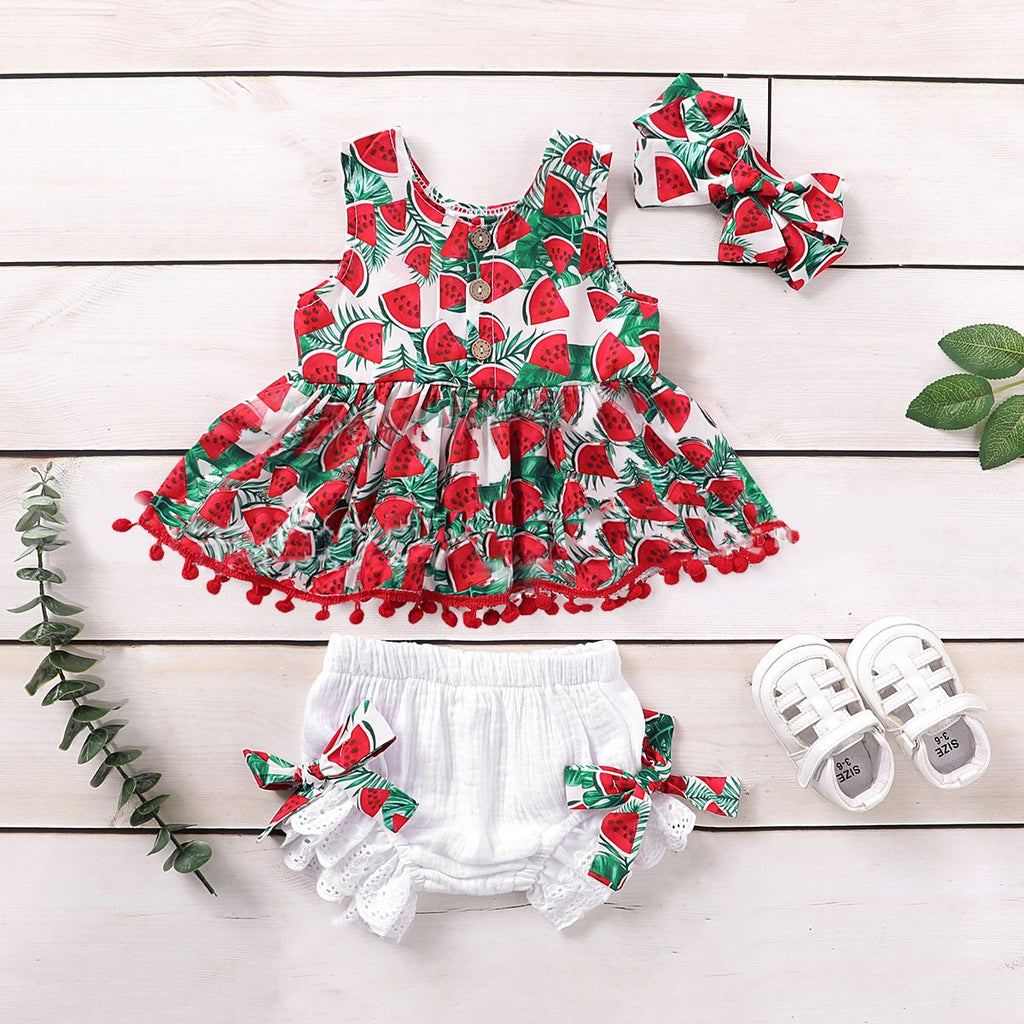 Baby Girl Watermelon Sets