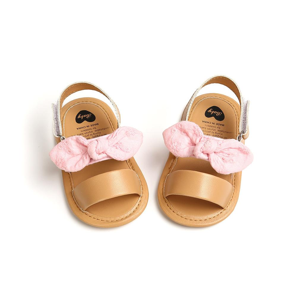 Baby Girl Summer Bow Shoes