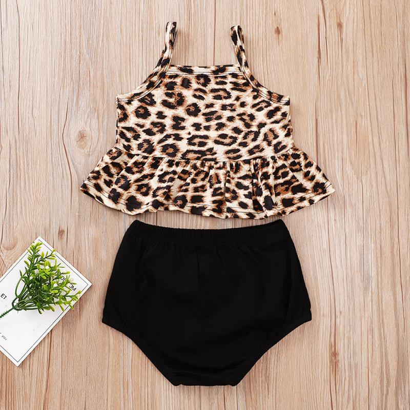 Baby Girl Leopard Suits