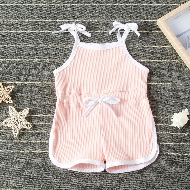 Toddler Cotton Pure Jumpsuit