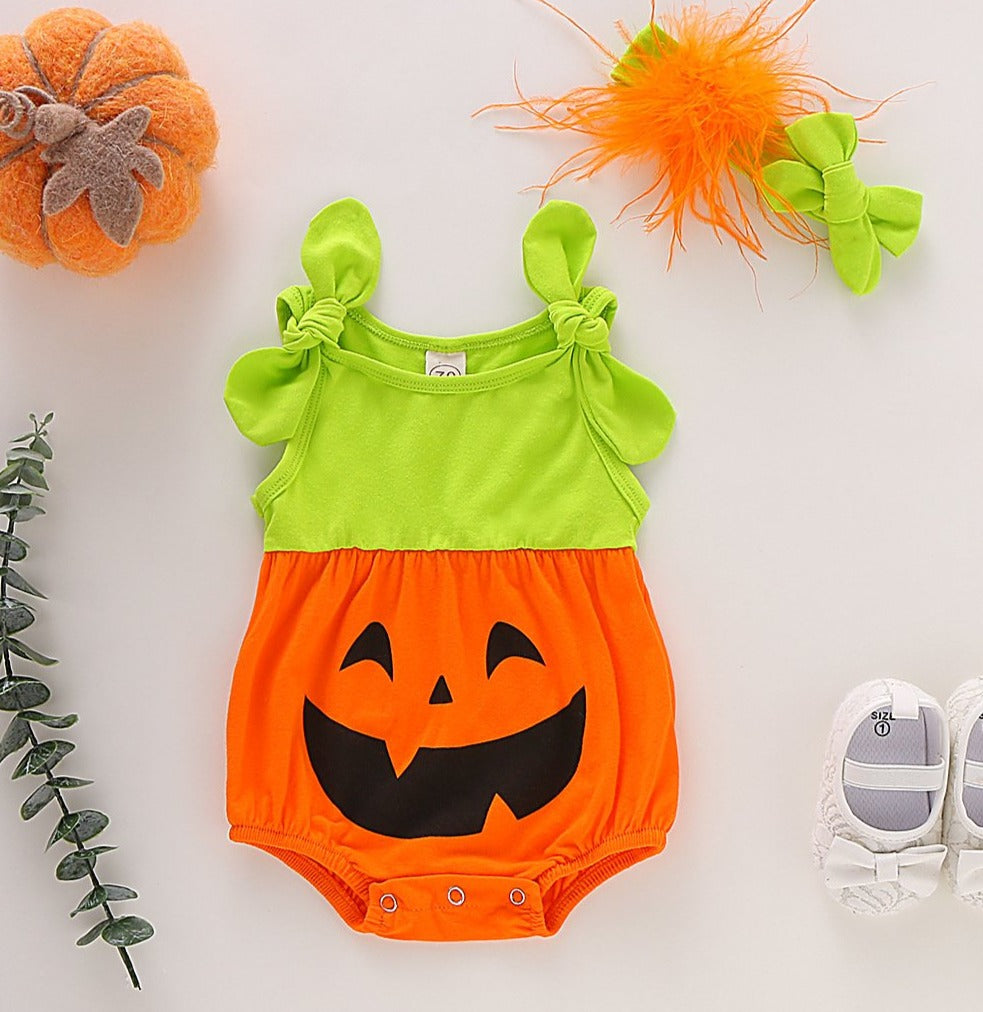 2-piece Baby Hallowmas Onesie Set