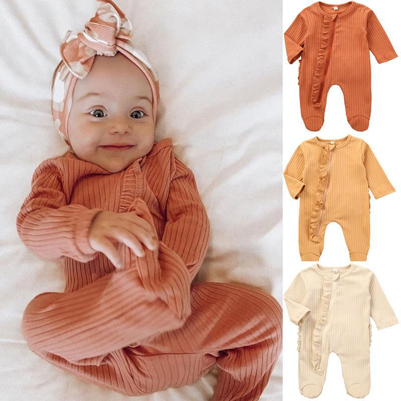 Cotton Baby Lace Romper