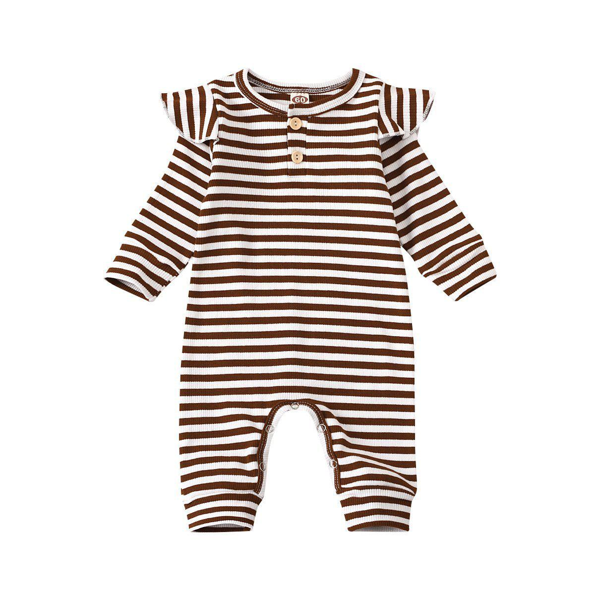 Baby Girl Stripe Romper