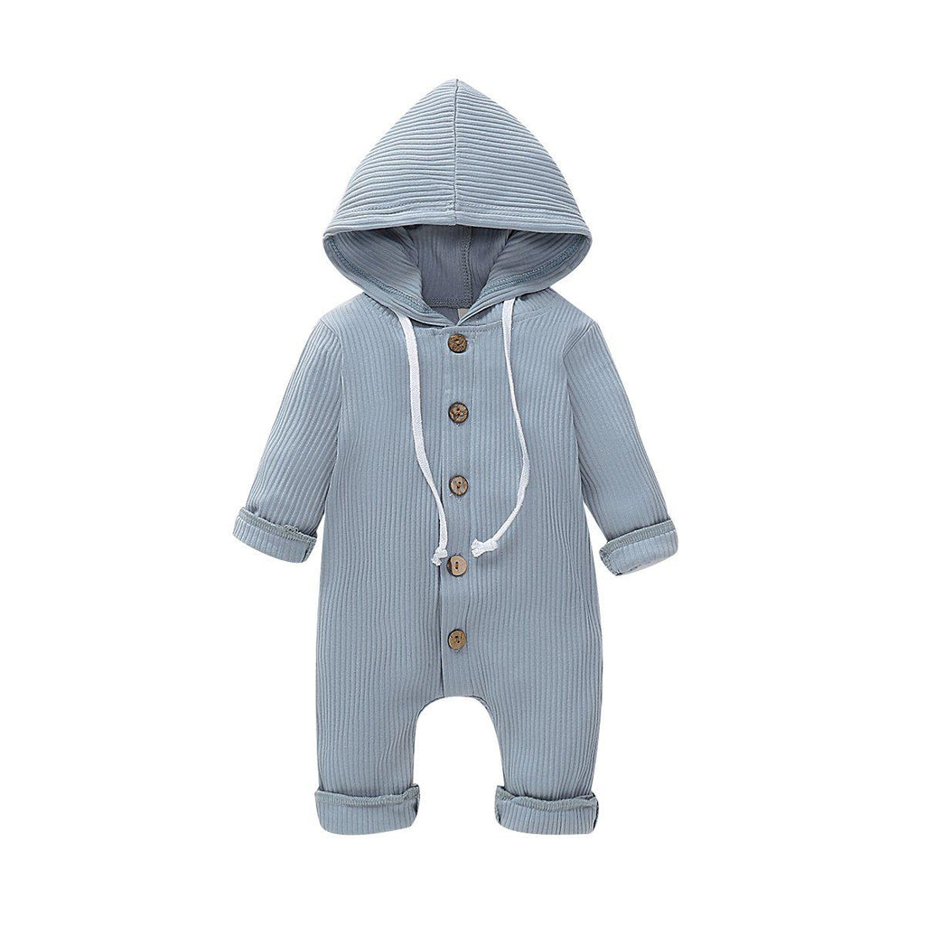 Baby Pure Cotton Hooded Romper