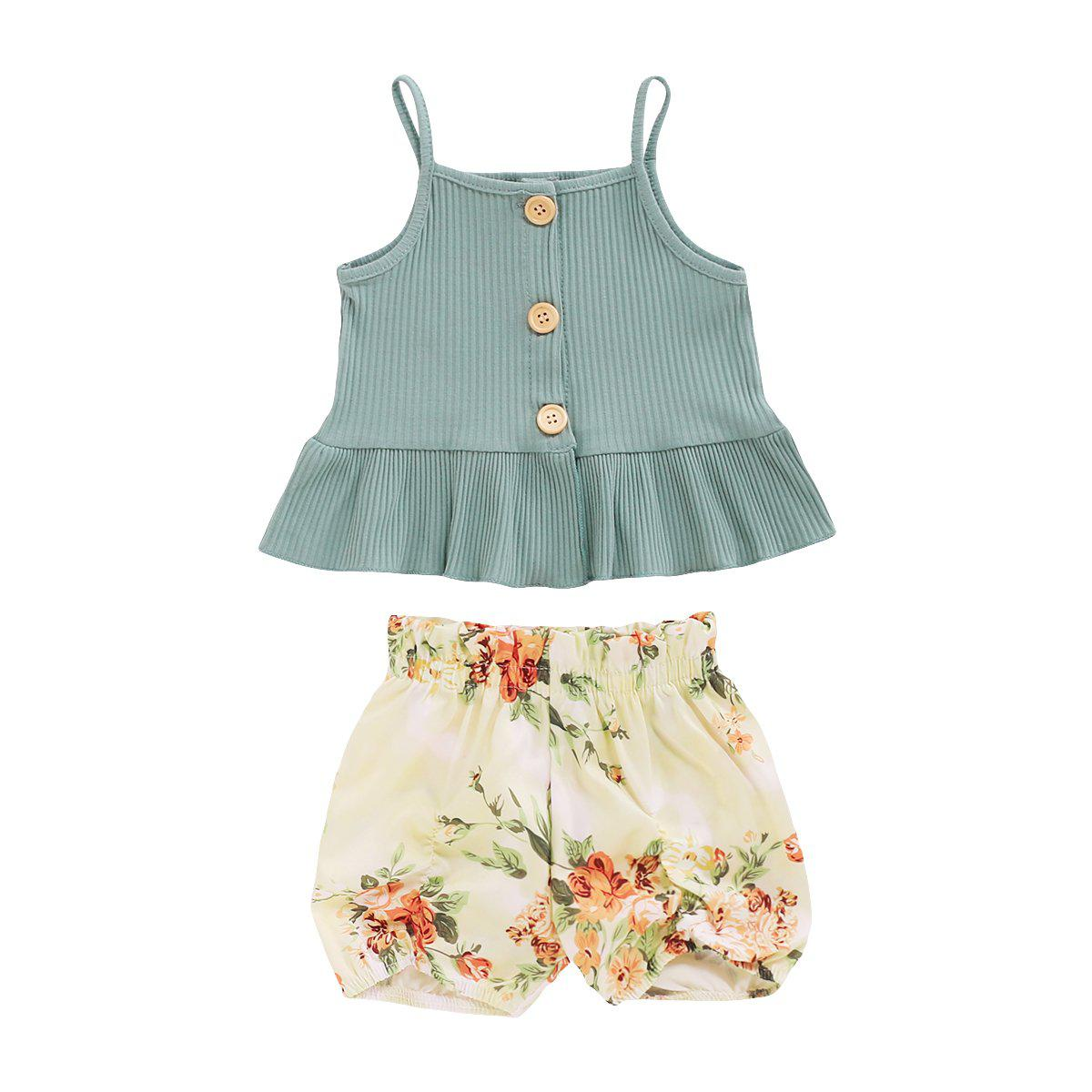 Baby Girl Frint Skirt Suits