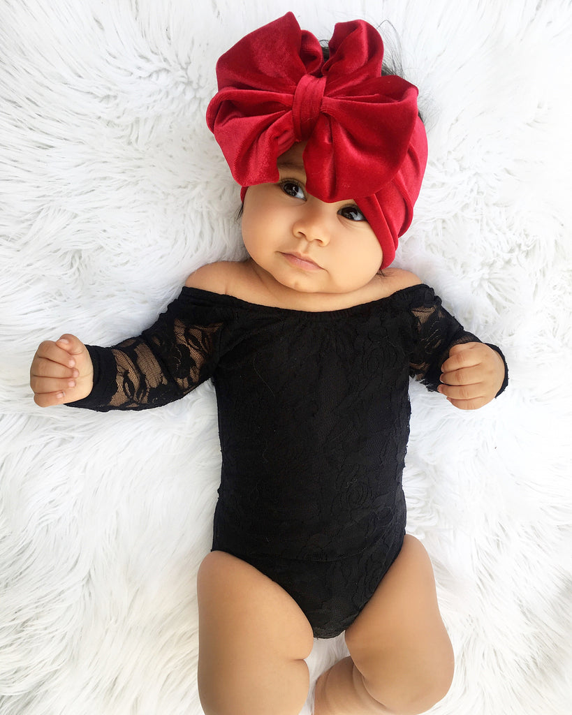 Baby Hare Summer Black Lace Jumpsuit
