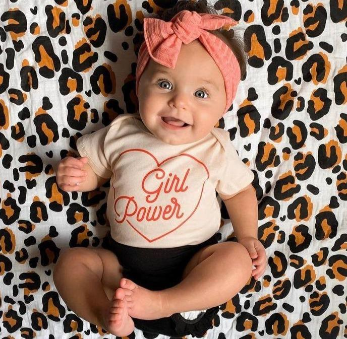 3-piece Girl Power Cotton Suit
