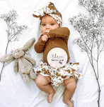 3-piece Baby Flower Set
