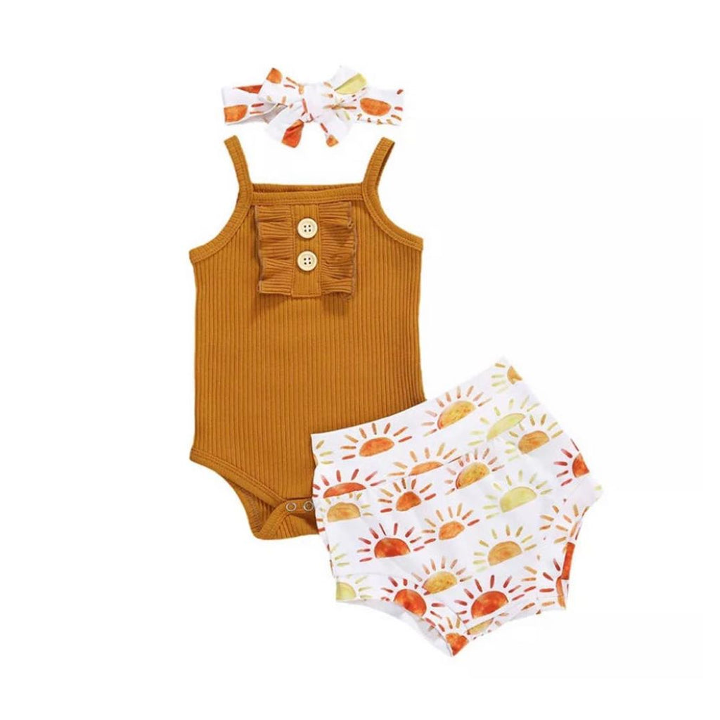 3-piece Baby Adorable Sunshine Set
