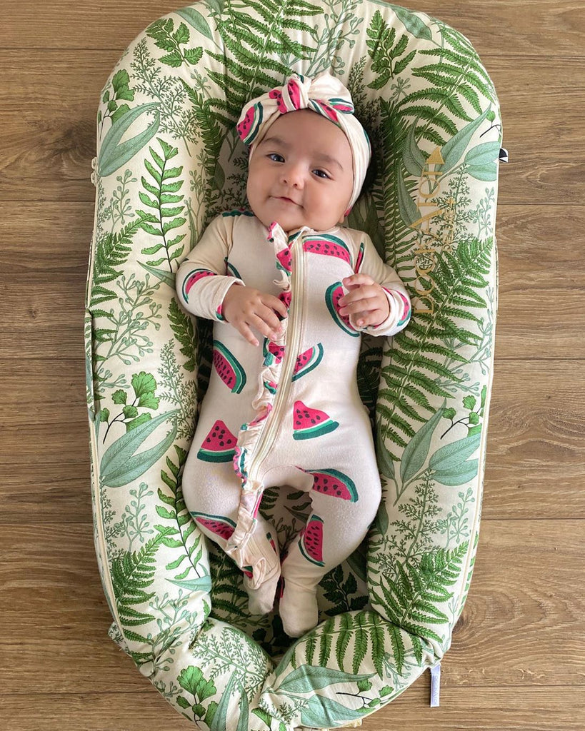 2-Piece Baby Watermelon Romper