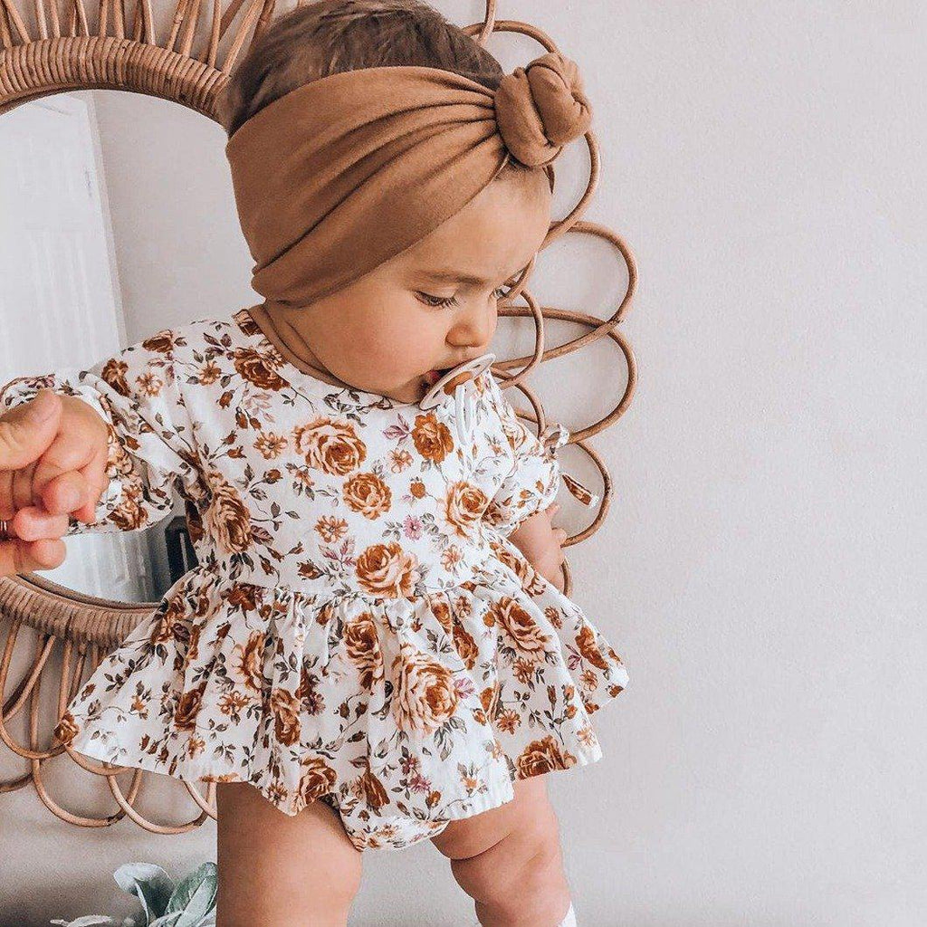 Baby Floral Cotton Romper