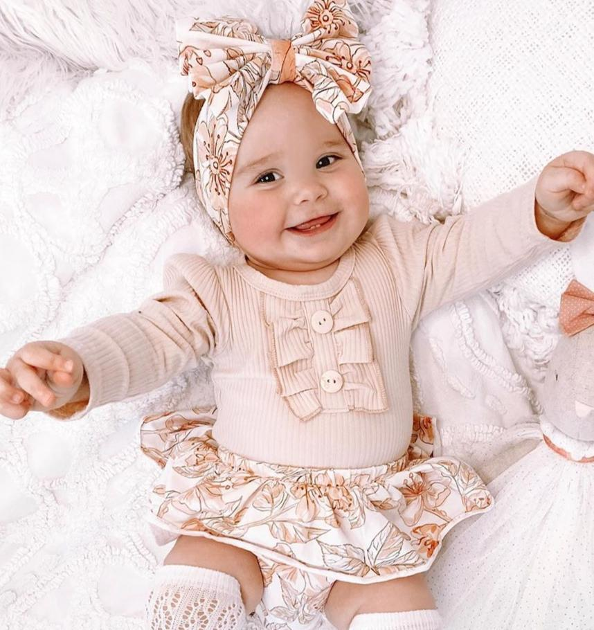 3-piece Baby Cute Romper Sets