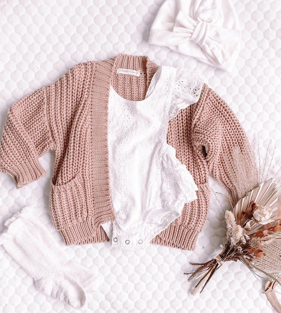 Baby Handmade Sweater Coat