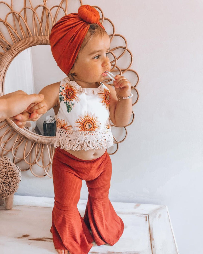 2-piece Baby Floral Set