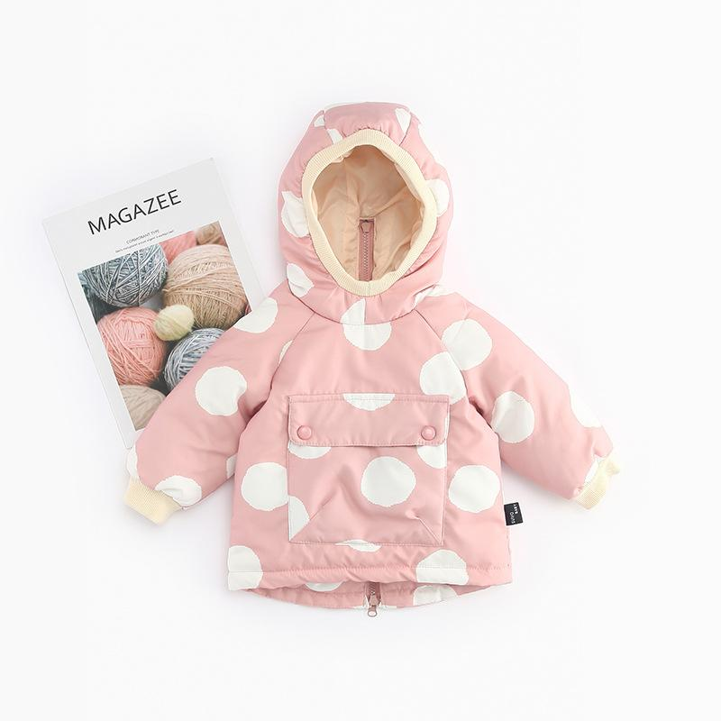 Baby Dot Pocket Snow Coat