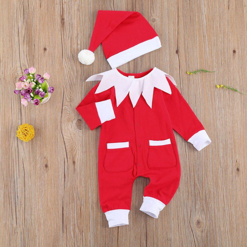 2-Piece Baby Christmas Romper Set