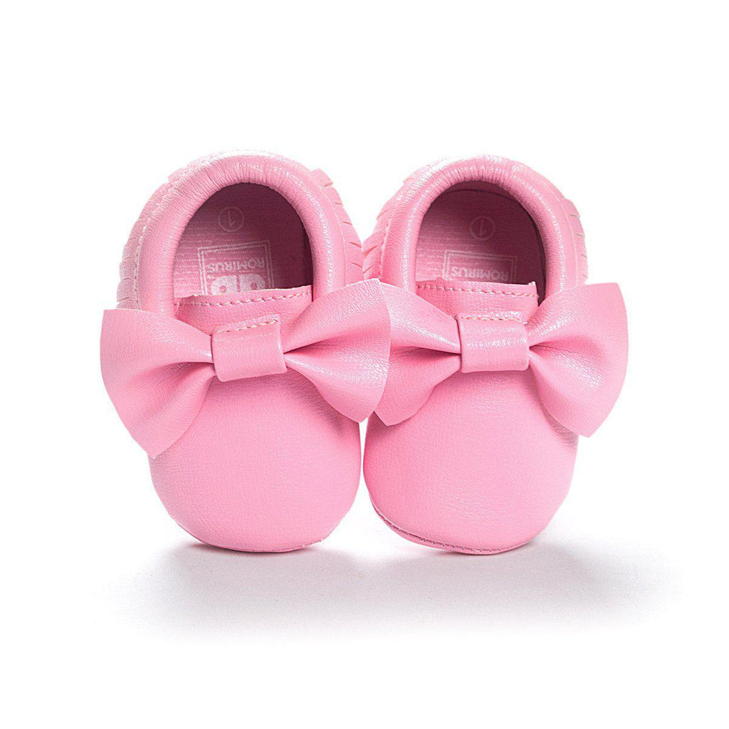 Baby Simple Bowknot Shoes