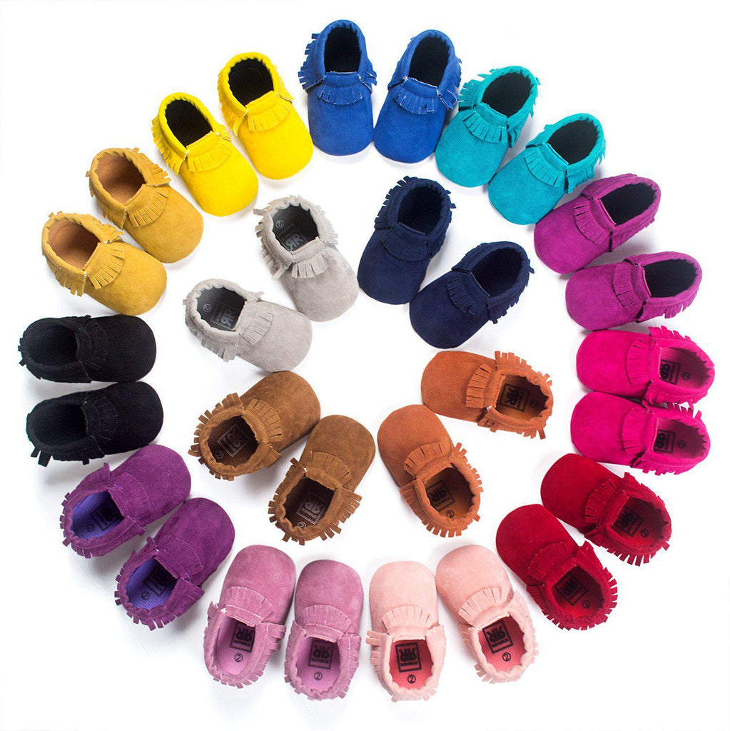 Baby Soft Bottom Tassel Toddler Shoes