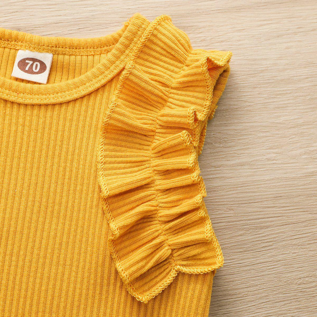 Baby Knit Cotton Romper