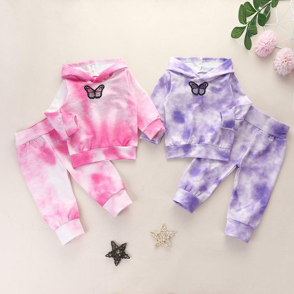 Baby Tie-dye Cotton Sets