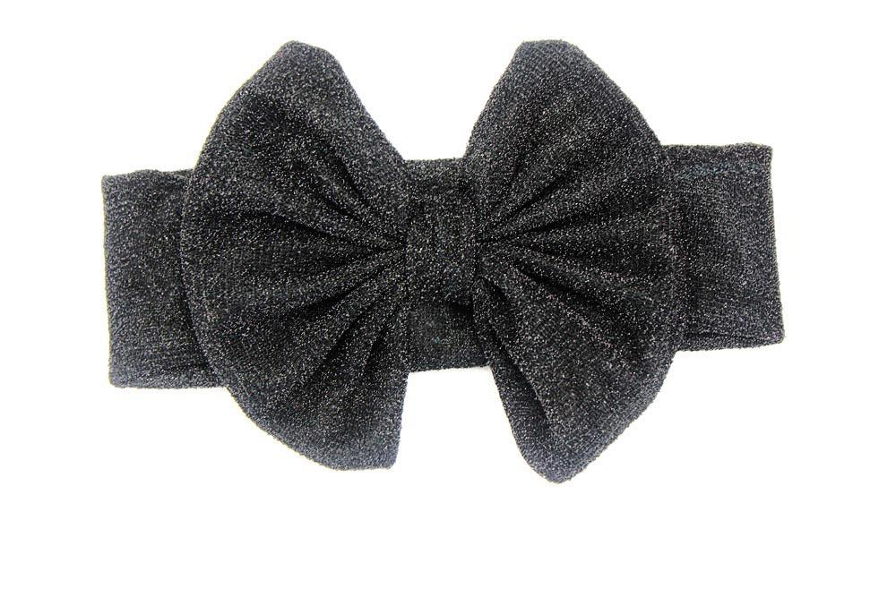 New head  shiny knotted headband 0-3y turban