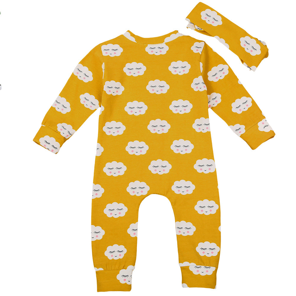 2-piece Baby Smile Jumpsuit
