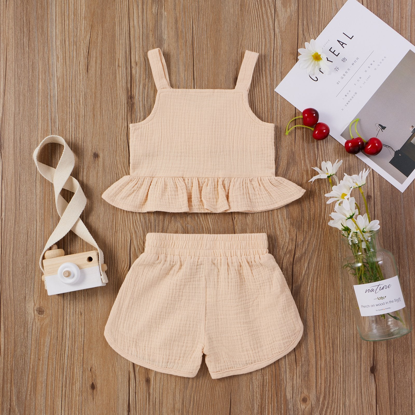 2-piece Baby Pure Cotton Sets