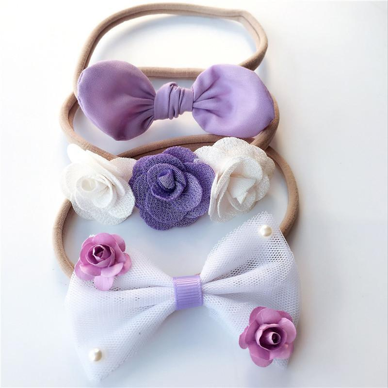 3-piece Baby Headband Set