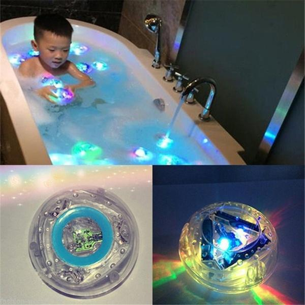 Bath Tub Light Colorful Waterproof Bathroom LED Light - 3 PCS