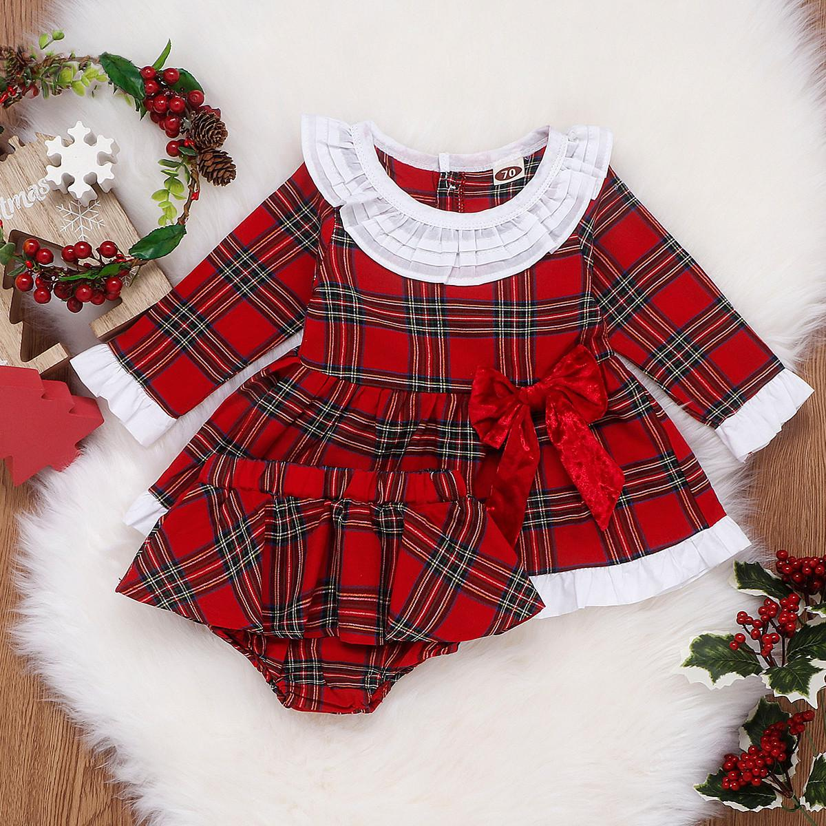 Christmas Girl Dress Set