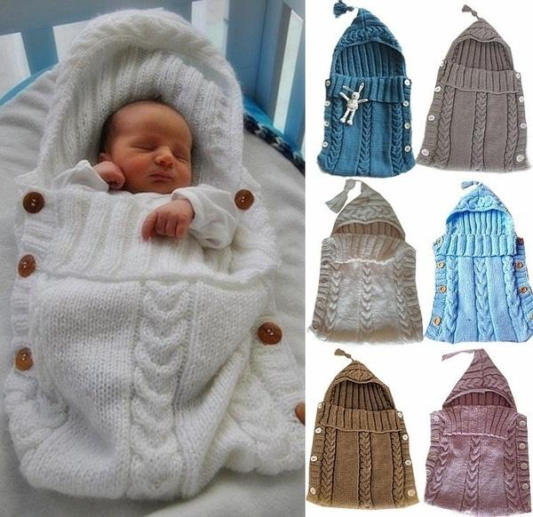 ?Newborn Baby Blanket Swaddle Sleeping Bag Kids Toddler Sleep Sack Stroller Wrap