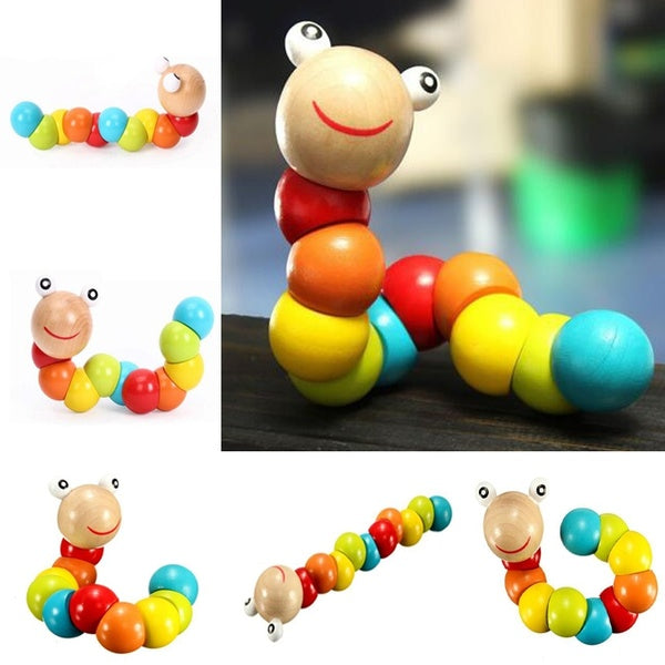 Funny Insert Puzzle Educational Wooden Toys Fingers Flexible Training