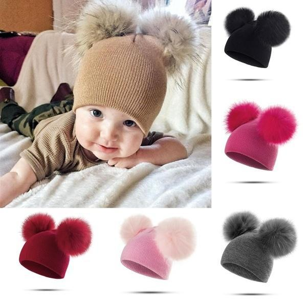 f37a014f54a Fashion Baby Hats Toddler Girl Boy Winter Warm Cute Hat Beanie –  Hobby Amosting