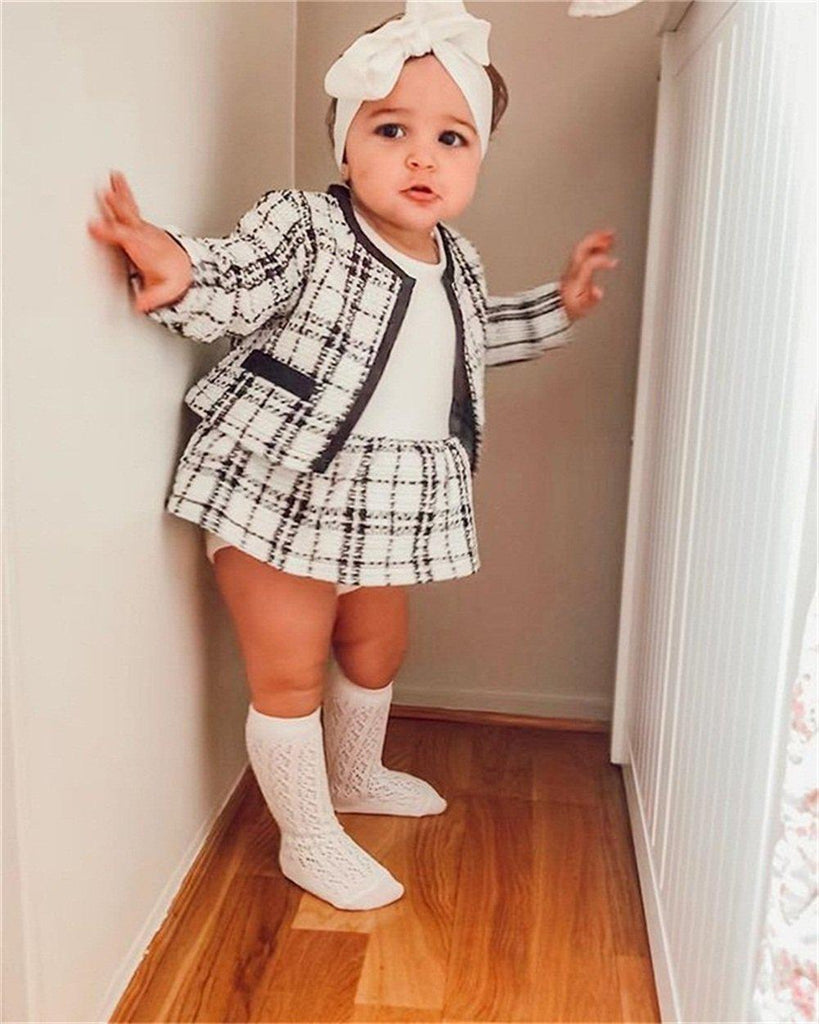 2-piece Baby little sweet princess skirt suit