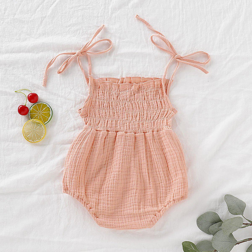 Baby Cotton & Linen Romper